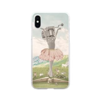 オルゴールバレリーナ Soft Clear Smartphone Case