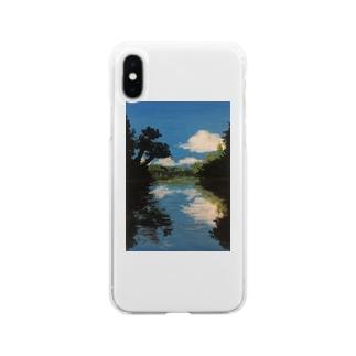 とある公園 Soft Clear Smartphone Case