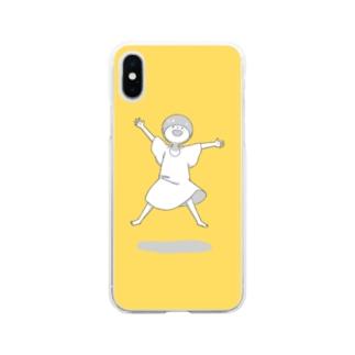 やったー Soft Clear Smartphone Case