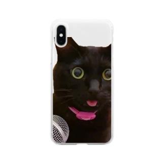 エコー猫 Soft Clear Smartphone Case