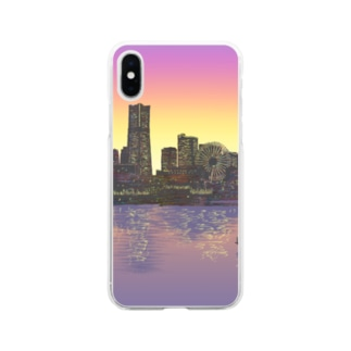 Yokohama Soft Clear Smartphone Case