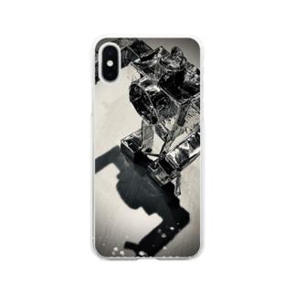 Time Machine Robo Soft Clear Smartphone Case