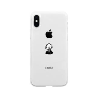 アルフレッド・マーシャル Soft Clear Smartphone Case