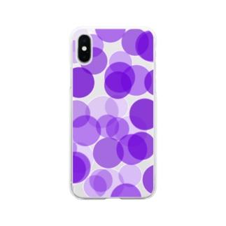 ぶどう Soft Clear Smartphone Case