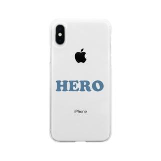 HERO 英雄・ヒーロー Soft Clear Smartphone Case