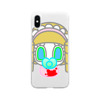 篠宮十二のMY ANGEL Soft clear smartphone cases