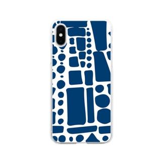 ぽたぽたぽふぽふ完全版 Soft clear smartphone cases