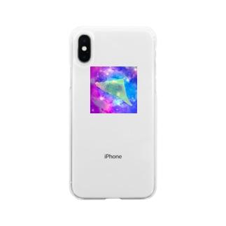 本日のギャラクシー八つ橋 Soft clear smartphone cases
