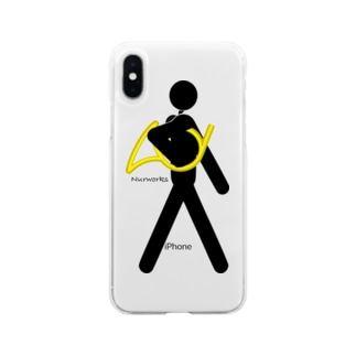 The Walking Hornist w/o Logo Soft clear smartphone cases