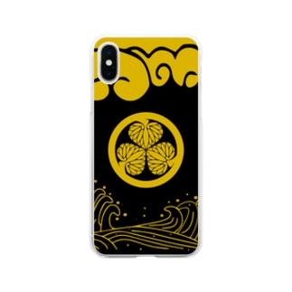コーモン様 Soft clear smartphone cases