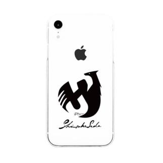 SHINSUKE SADA オフィシャルロゴグッズ Soft clear smartphone cases