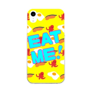 EATME! Soft clear smartphone cases