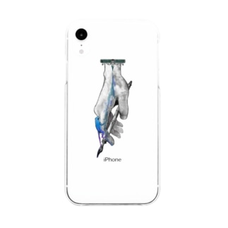frog-ring Soft clear smartphone cases