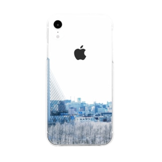 いい街並みのiPhoneケース(D) Soft clear smartphone cases