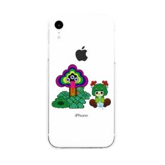 ピュティラムとモックン Soft clear smartphone cases