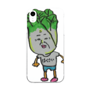 Shindo Of The Dayの白菜さん Soft clear smartphone cases