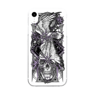 BLACKINK のTAROT - THE STAR. Soft clear smartphone cases