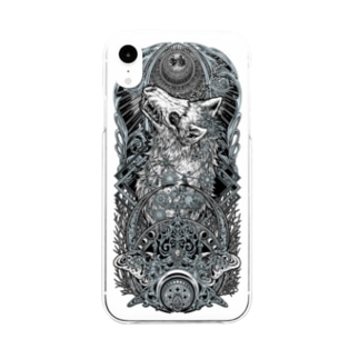 TAROT - THE MOON. Soft clear smartphone cases
