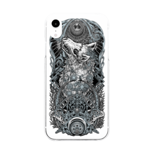 BLACKINK のTAROT - THE MOON. Soft clear smartphone cases