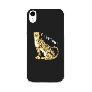 Cheetah!!!! Soft clear smartphone cases
