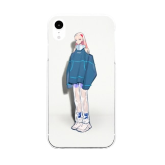 コンノイタの03 Soft clear smartphone cases