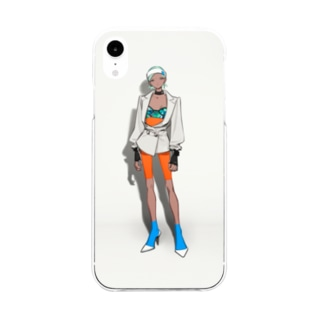 02 Soft clear smartphone cases