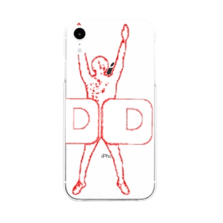 D.Dくん Soft clear smartphone cases