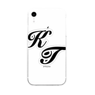 KT logo goods Soft clear smartphone cases