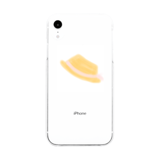 cherie87のあの子の麦わら帽子 Soft clear smartphone cases