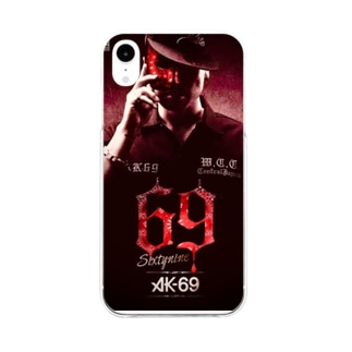 AK69スマホカバー Soft clear smartphone cases