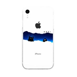ホシクイ Soft clear smartphone cases