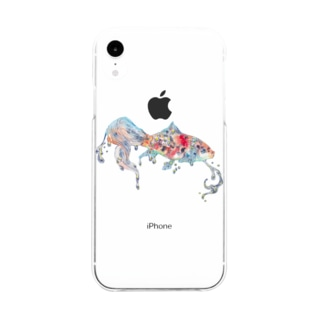 朱文金 Soft clear smartphone cases