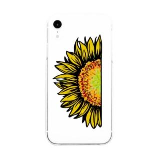 hima-wari Soft clear smartphone cases