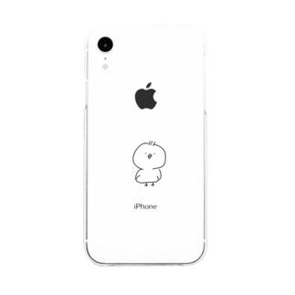 ぴぽ Soft clear smartphone cases