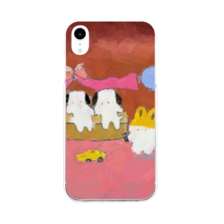 おもちゃ売り場🚕 Soft clear smartphone cases