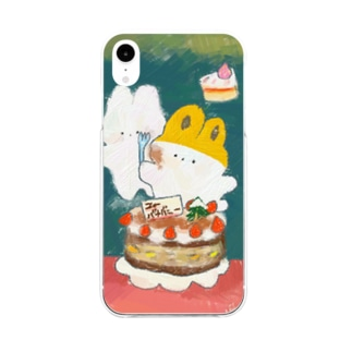 お誕生日🎂 Soft clear smartphone cases