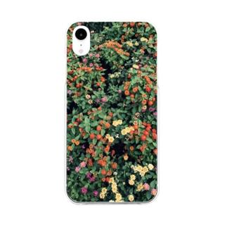 庭 Soft clear smartphone cases