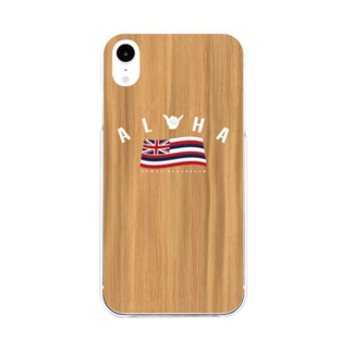 Aloha Flag Soft clear smartphone cases