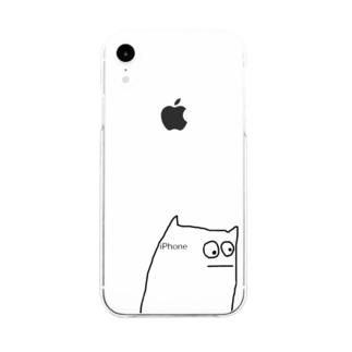 タニタ No.8 Soft clear smartphone cases