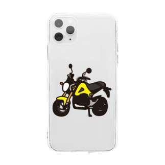 GROM YELLOW Soft clear smartphone cases
