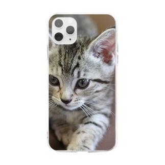 今日も今日とてルナ日和 Soft clear smartphone cases