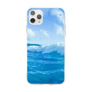 夏海空 Soft clear smartphone cases
