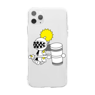ナイツ・ハンマー Soft clear smartphone cases