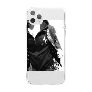 gina_leatherのGina Leatherオリジナルスマートフォンケース Soft clear smartphone cases