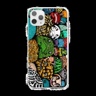 "Dark blancoのDark blanco ""Monster 2"" Soft clear smartphone cases"