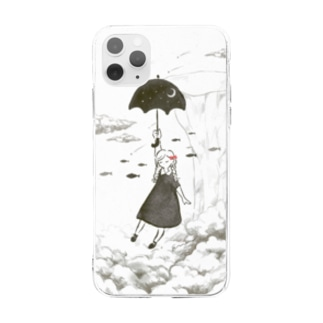 空想世界と女の子 Soft clear smartphone cases