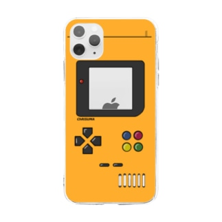ChRiSUMA GAME ADDICTION Los Angels yellow  Soft clear smartphone cases