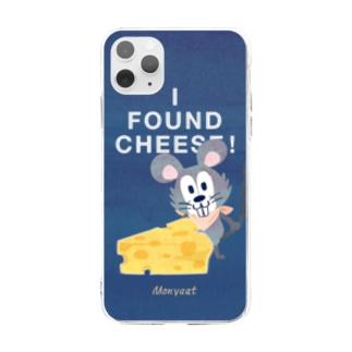 チーズはここに!*ソフトクリアケース Soft clear smartphone cases