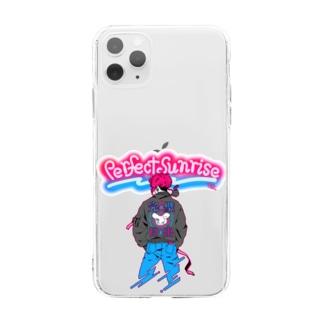 武漢加油!/Perfect Sunrise 01.Art pop Soft clear smartphone cases