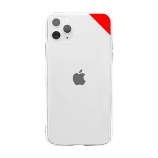 LampのRedShoulder(iPhone11ProMax用) Soft clear smartphone cases